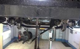 wymiana uszczelki łapy alternatora bmw e65