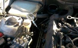 BMW 535i model e39 pomiar ciśnienia sprężania