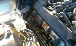 pomiar ciśnienia sprężania silnik M62B35TU