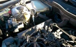 sprawdzanie ciśnienia sprężania w BMW 535i v8 m62