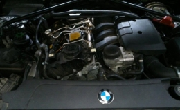 wymiana cewek zapłonowych BMW 520i model e60